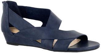 Easy Street Shoes Womens Carol Wedge Sandals