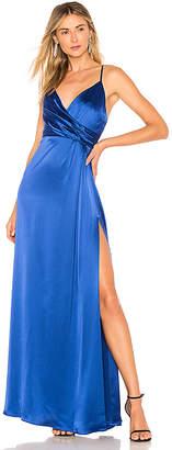 Jill Stuart Wrap Front Gown