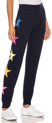 Sundry Side Stars Cozy Cashmere Blend Sweatpants