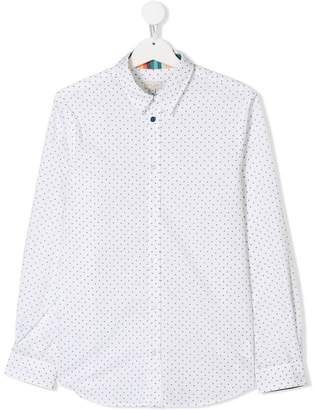 Paul Smith TEEN airplane-print shirt