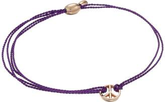 Alex and Ani Kindred Cord Peace Amethyst Bracelet