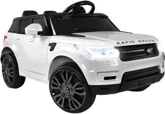 Dwellkids White Rangerover Ride-On Toy Car