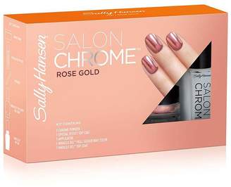 Sally Hansen Get this season's coolest nail trend from home with the Salon Chrome Kit - Rose Gold #220