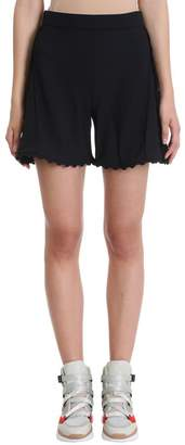 Chloé Black Crepe Shorts