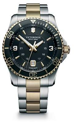 Victorinox Maverick Two-Tone Watch, 43mm