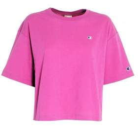 Women's Fuchsia Cotton T-shirt.