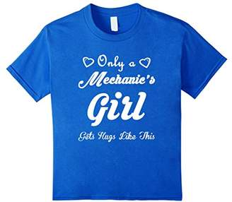 only a mechanic's girl gets hugs like this T-Shirt