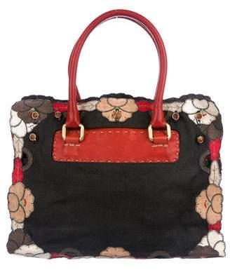 Fendi Leather Handle Bag