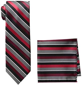 Pierre Cardin Men's Neck Tie and Pocket Square