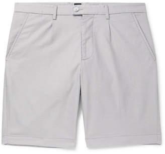 HUGO BOSS Slice Slim-Fit Cotton-Blend Jacquard Shorts