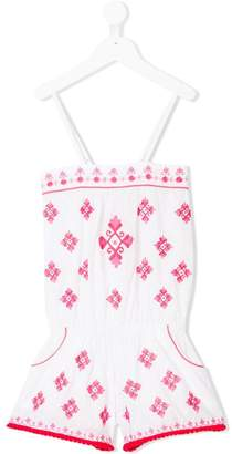 Elizabeth Hurley Kids patterned playsuit