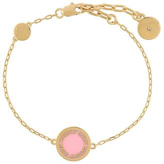 Marc Jacobs logo disc bracelet