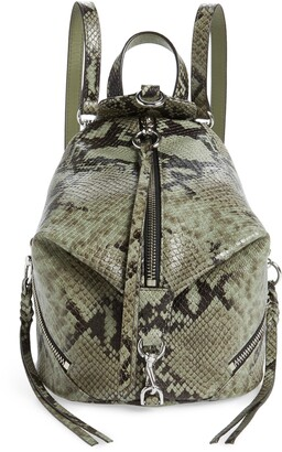 Rebecca Minkoff Mini Julian Convertible Leather Backpack