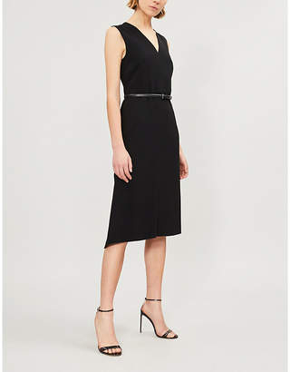 Max Mara Robin A-line crepe dress