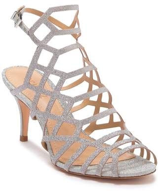 Schutz Morley Caged Leather Sandal
