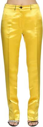 Calvin Klein High Waist Satin Pants