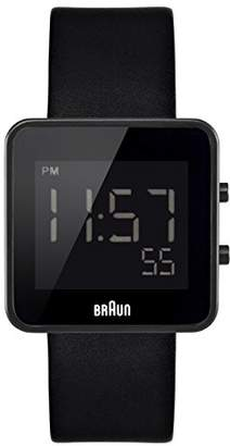 Braun Men's BN0046BKBKG Digital Digital Display Quartz Watch