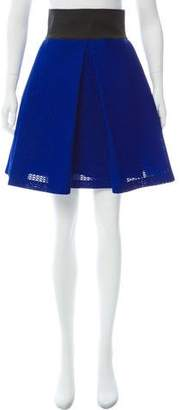 Milly Pleated Knee-Length Skirt w/ Tags
