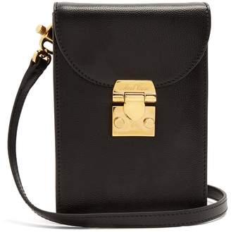 Mark Cross Josephine small pebble-leather cross-body bag