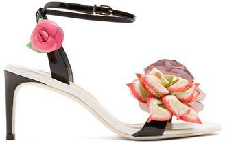 Sophia Webster Jumbo lilico flower-embroidered sandals