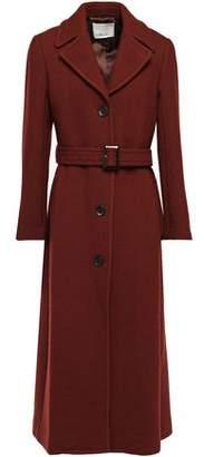 3.1 Phillip Lim Belted Wool-blend Crepe Coat