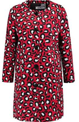 Love Moschino (ラブ モスキーノ) - Love Moschino Printed Cotton-Blend Canvas Coat