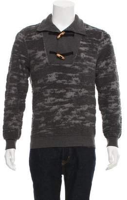 Maison Margiela Wool Toggle Henley Sweater