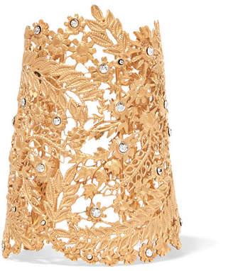 Etro (エトロ) - Etro - Gold-tone Crystal Cuff - one size