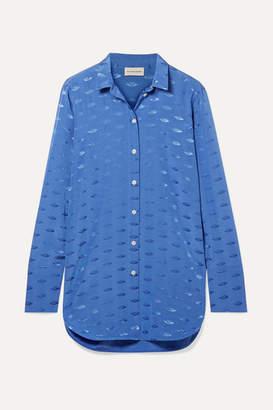 By Malene Birger Jacquard Shirt - Azure