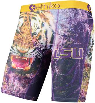Ethika Unbranded Men's Purple LSU Tigers All-Over Print Boxer Briefs