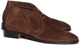 Brooks Brothers Unstructured Suede Chuka Boots