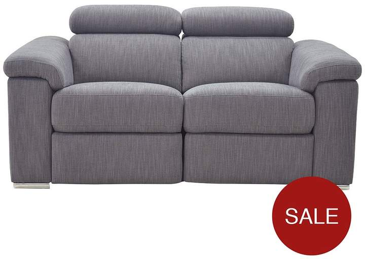 Stockton Fabric 2-Seater Power Recliner Sofa