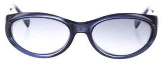 Fendi Narrow Gradient Sunglasses