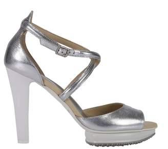 Hogan Heeled Sandals Shoes Women