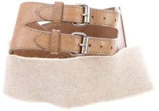 Yigal Azrouel Quilted Waist Belt