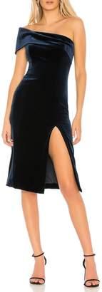 Jay Godfrey Zola Velvet Dress