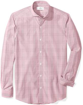 Buttoned Down Men's Fitted Cutaway-Collar Sport Shirt