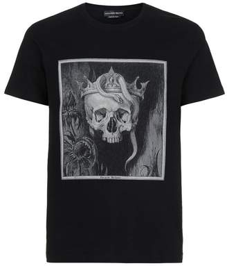 Alexander McQueen Gothic Skull T-Shirt