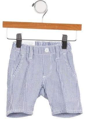Eddie Pen Boys' Pinstripe Two-Pocket Pants w/ Tags white Boys' Pinstripe Two-Pocket Pants w/ Tags