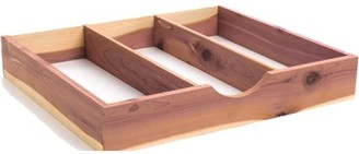 International Innovations Cedar Tie Box - Absorbs moisture and Eliminates Odors While Repelling Insects (Box of 1) by International Hanger