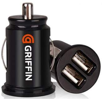 Griffin Gc23089-2 Powerjolt Dual Micro Car Charger For Mobile Phone / Usb Device