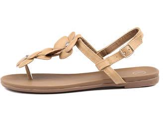 Ko fashion Gomez-kf Beige Sandals Womens Shoes Casual Sandals-flat Sandals
