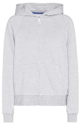 Tory Sport Cotton and cashmere-blend hoodie