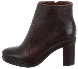 Roberto Del Carlo Leather Calima Ankle Boots w/ Tags