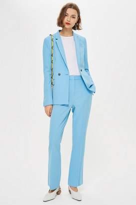 Topshop PETITE Kick Flare Suit Trousers