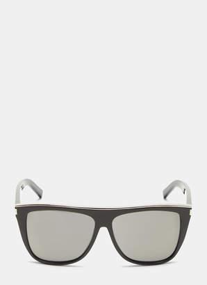 f4da1be525 Saint Laurent New Wave SL 1 Sunglasses in Black