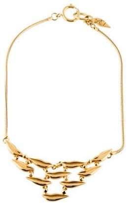 Diane von Furstenberg Mini Lip Bib Necklace