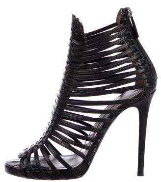 Tabitha Simmons Leather High Heel Sandals