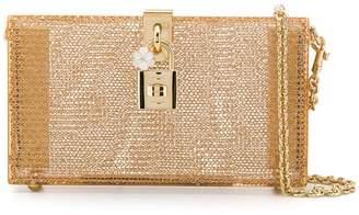Dolce & Gabbana chain clutch bag