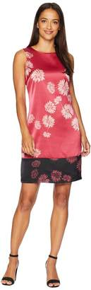 Vince Camuto Sleeveless Chateau Floral Shift Dress Women's Dress